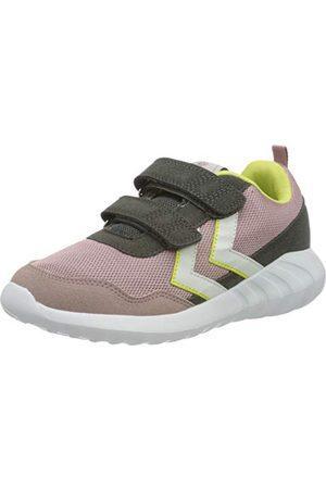 Hummel Unisex barn moln Jr Sneaker, Pale Mauve - 1 UK