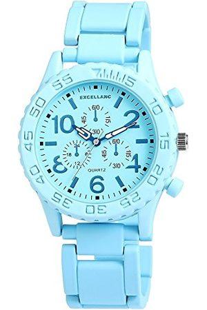 Excellanc Unisex-armbandsur analog kvarts olika material 15072350003