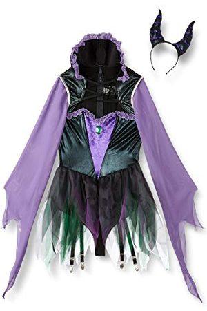 Leg Avenue Dam Wicked Sorceress Panamahatt, ( , ), Tillverkarens Storlek 6/8 UK/S