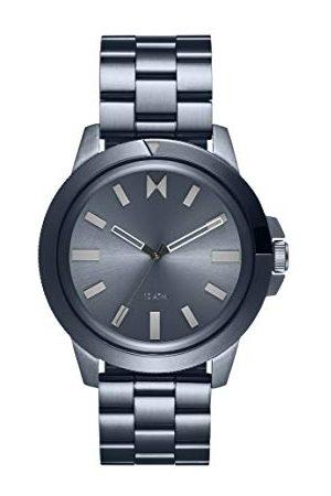 MVMT Herr analog kvartsklocka med rostfritt stålrem 28000076-D