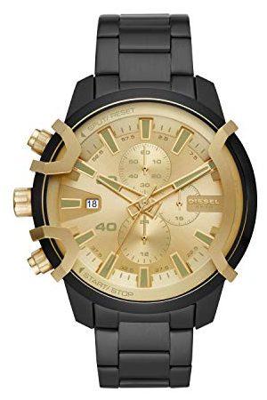 Diesel Herr kronograf kvartsur med rostfritt stål armband DZ4525