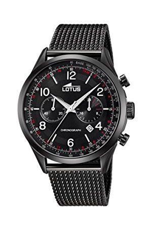 Lotus Herr analog kvartsklocka med rostfritt stål armband 18556/1
