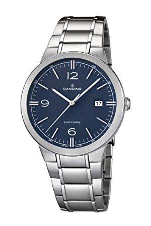 Candino Herr kvartsklocka med urtavla analog display och rostfritt stål armband C4510/2