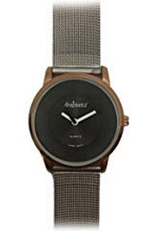 Arabians Herr analog kvartsklocka med rostfritt stålrem DBH2187W