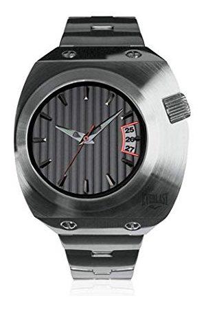 Everlast Unisex vuxna analog kvartsklocka med rostfritt stål armband EVER33–200–002