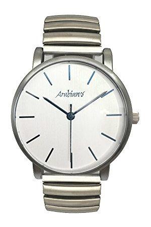 Arabians Herr analog kvartsklocka med rostfritt stål armband DBA2272A