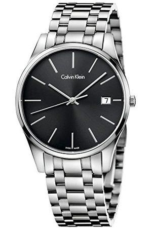 Calvin Klein Calvin liten herr analog kvarts smartklocka armbandsur med rostfritt stål armband K4N21141