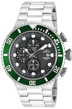 Invicta Herrar analog kvarts klocka med rostfritt stål armband 18908