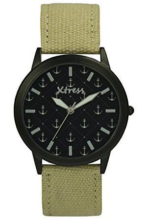 XTRESS Herr analog kvartsklocka med nylonarmband XNA1035-32