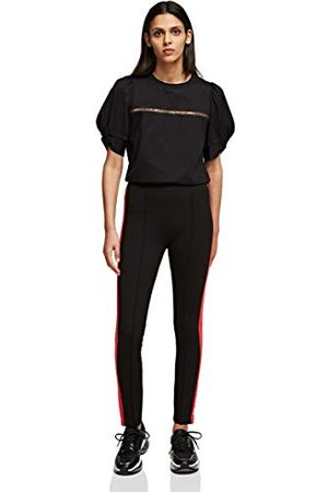 Karl Lagerfeld Damer kontrast panel punto leggings
