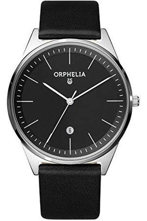 ORPHELIA Herrarmbandsur Simplicity analog kvarts läder bälte