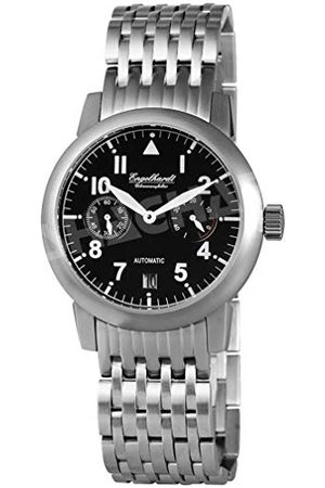 Engelhardt Män analog mekanik klocka med rostfritt stål armband 388921028002