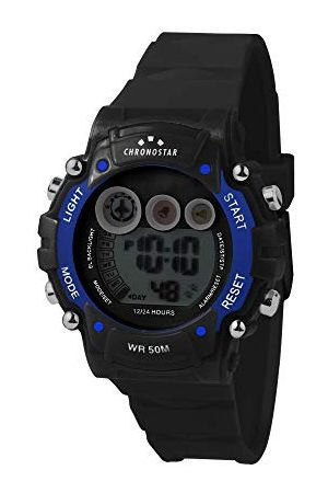 Chronostar Digital klocka för män med plastrem R3751277001