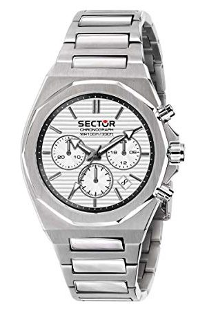 Sector No Limits Herr analog kvartsklocka med rostfritt stål armband R3273628004