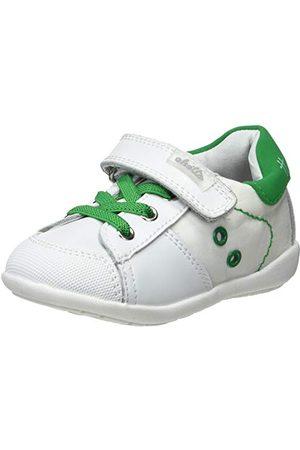 Chetto Baby-pojkar 1118063 tofflor, Blanco Verde L00007-24 EU