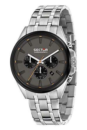 Sector No Limits Herr analog kvartsklocka med rostfritt stål armband R3273991003