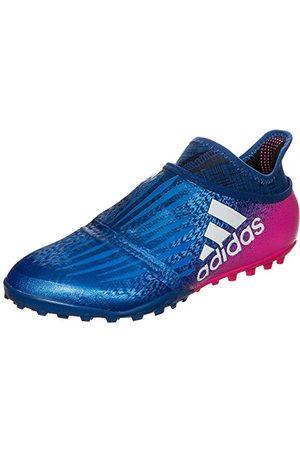 adidas Män X Tango 16+ Purechaos Tf Footbalskor, Blue Blau Pink Weiß Blau Pink Weiß9 UK