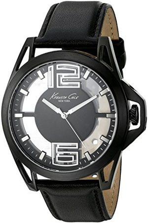 Kenneth Cole Herr analog kvartsklocka med läderrem 10022526