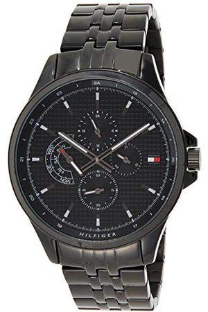 Tommy Hilfiger Herr multiurtavla kvartsklocka med rostfritt stål armband 1791611