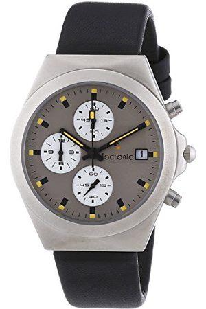 Tectonic Unisex-armbandsur kronograf kvarts 41-6904-84