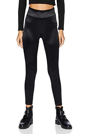 Urban classics Damer Ladies Shiny High Waist Leggings