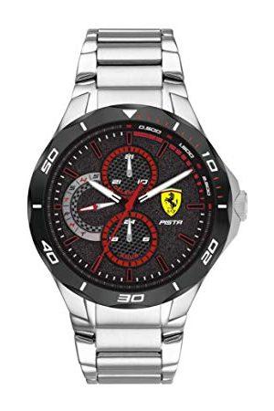 Scuderia Ferrari Analog kvartsklocka för män med rostfritt stål 0830726