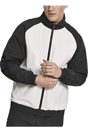 Urban classics Herr jacka crinkle kontrast raglan Track Jacket