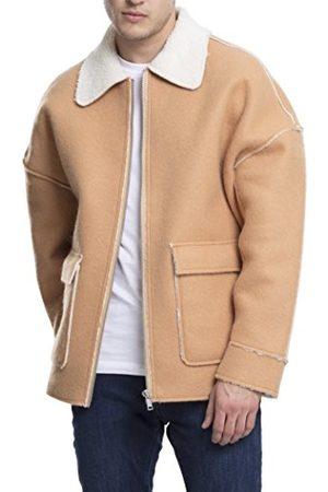 Urban classics Herr Bonded Oversized Sherpa Jacket Jacka