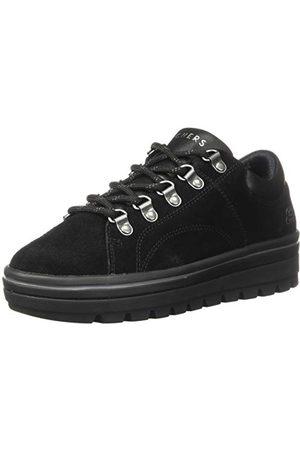 Skechers Dam Street Cleats 2-mode Trail Sneaker, mocka Duraleather Trim Flash Bbk38 EU