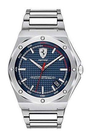 Scuderia Ferrari Herr analog klassisk kvartsklocka med rostfritt stålrem 0830530