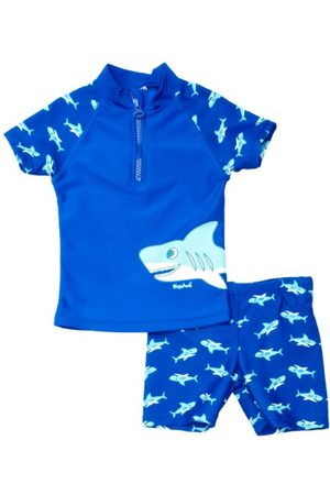 Playshoes Pojkar UV-skydd badset haj badshorts