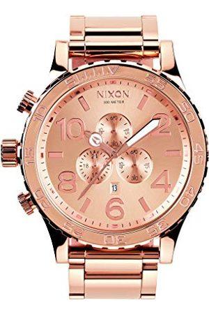 Nixon Unisex kronograf kvartsur med rostfritt stålrem A083-897-00