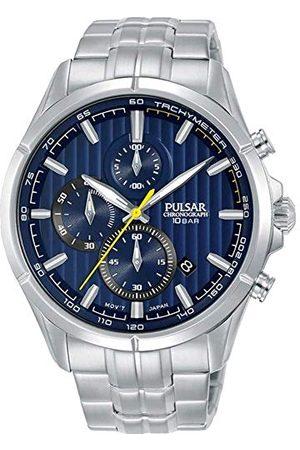 Pulsar Herr analog kvartsklocka med rostfritt stål armband PM3157X1