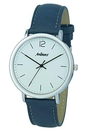 ARABIANS Analog kvartsklocka för män med läderrem HBA2248A