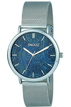 Snooz Herr analog kvartsklocka med rostfritt stålrem Saa1042-71