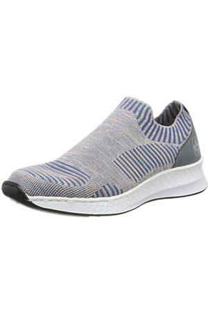 Rieker Kvinna Sneakers - Dam N5678-91 sneaker, Blue Rose Adria 91-40 EU