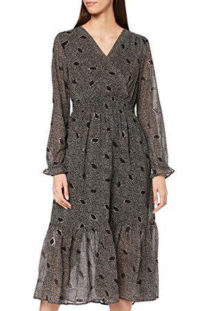 Mustang Dam Fiona Aop klänning ledig klänning