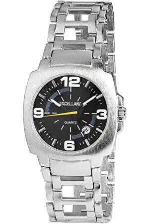 Excellanc Herr analog kvartsklocka med olika material armband 284023000110