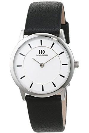 Danish Design Dam analog kvartsur med läderarmband 3324588