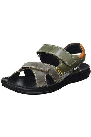 Pikolinos TARIFA 06J-5818C1 Mörk grå munk-rem loafer, 10 UK