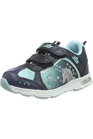 LICO Flicka enhörning V Blinky Sneaker, Marin turkos23 EU