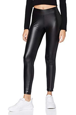 Urban classics Dam dam damimitation läder leggings