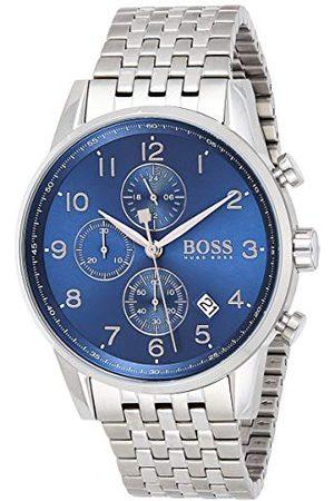HUGO BOSS Herr analog klocka med stålrem 1513498