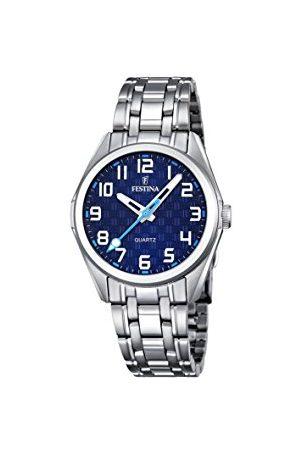 Festina Unisex analog kvartsklocka med rostfritt stål armband F16903/2