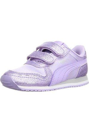 PUMA Baby flickor Cabana Racer Glitz V Inf Sneaker, Light Lavender Light Lavender - 5 UK Child
