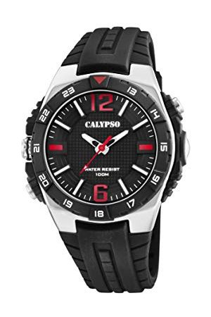 Calypso Calypso klockor herr analog klassisk kvartsklocka med plastrem K5778/6
