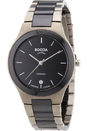Boccia Herr analog kvartsklocka med titanarmband – B3564-02