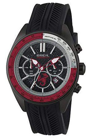 Breil Herr kronograf kvartsklocka med silikonarmband TW1693