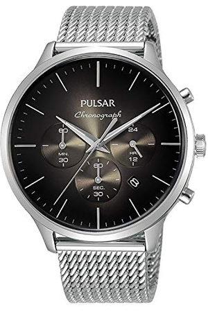 Pulsar Kvartsklocka med rostfritt stål armband 8431242965345