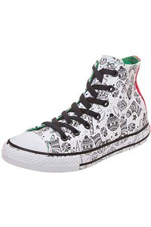 Converse Unisex barn Chuck Taylor All Star Street High High High Sneaker, röd33.5 EU